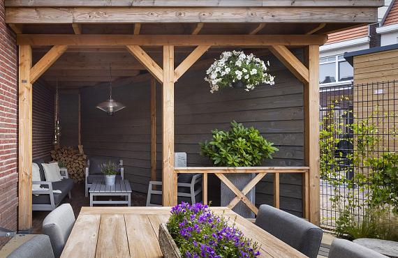Overkapping of veranda op maat 2