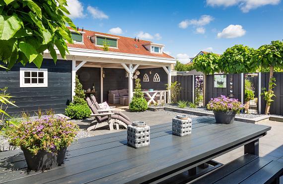 Overkapping of veranda op maat 1