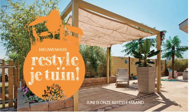 Teken Je Tuin : Restyle je tuin nieuwenhuis buitenleven